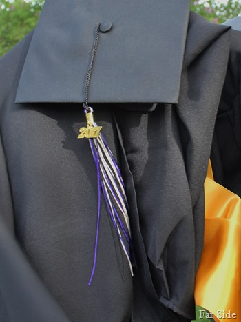 Noahs Cap and gown