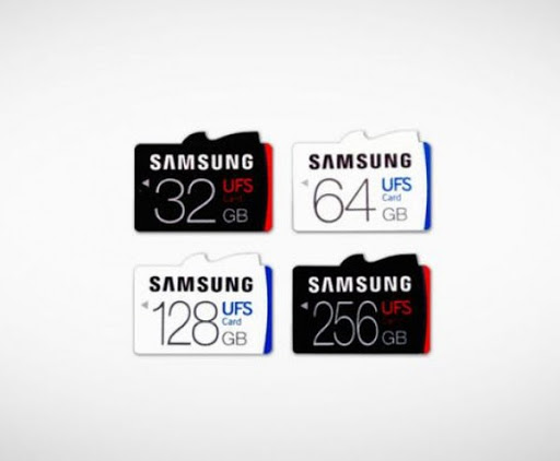 Samsung's world-first UFS memory cards go up to 256GB, with whooping microSD speeds 1