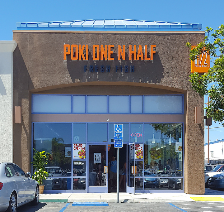 photo of the outside of Poki One N Half