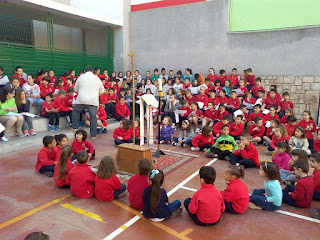 Celebración Pascua Primaria 2.015