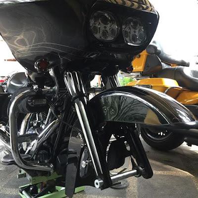 RG700, Harley Davidson dengan Desain AROGAN Terbaik