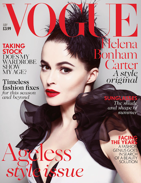 Helena Bonham Carter: el estilo rebelde llega a Vogue UK