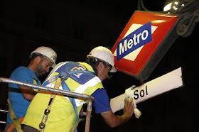 La estación de Sol y la Línea 2 de Metro de Madrid recuperan nombre