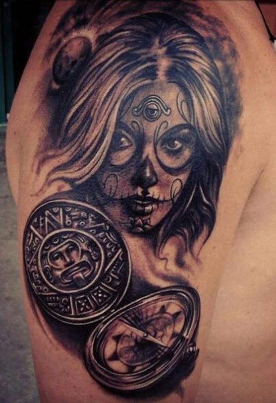 feminino_açcar_crnio_de_tatuagem_para_homens