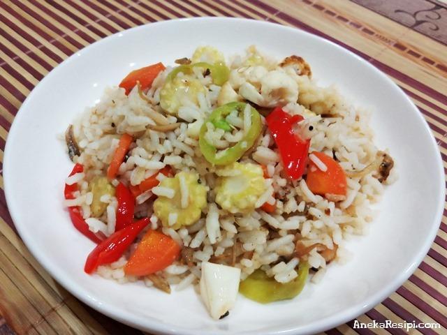nasi goreng ikan bilis  mudah Resepi Ayam Goreng Serbuk Kari Enak dan Mudah