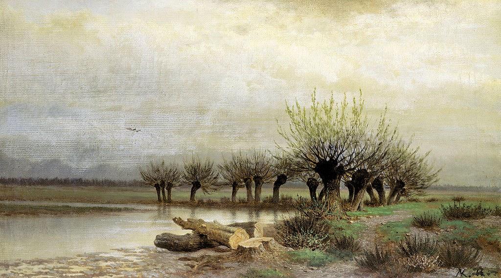 Lev Kamenev - Spring