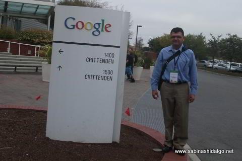 El autor en el campus Crittenden de Google