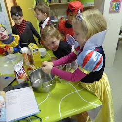 bakken voor Carnavalsmulfeest
