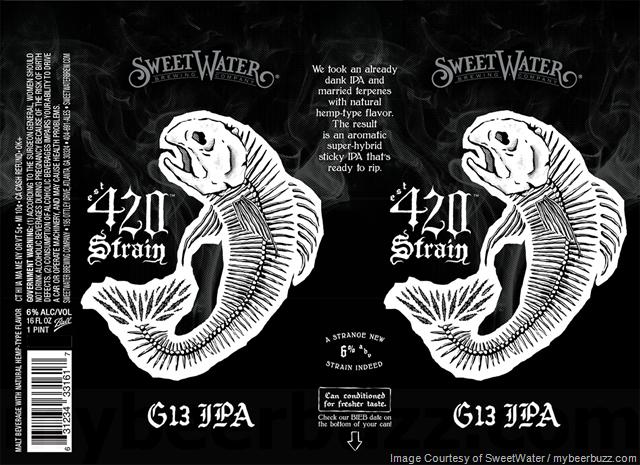 SweetWater Adding 420 Strain G13 IPA w/Hemp Terpenes
