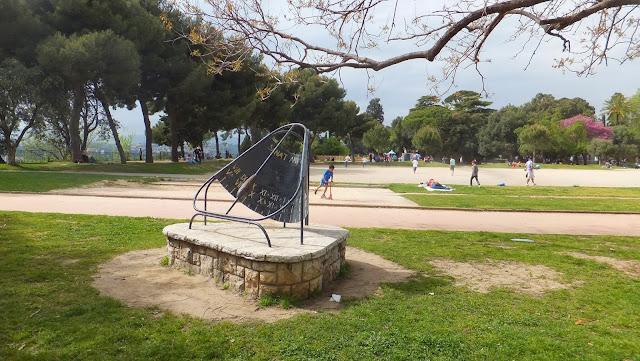 Niza, Parque de la Colina del Castillo, Elisa N, Blog de Viajes, Lifestyle, Argentina