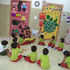 Introduction to letter 'C' (Witty World, Nursery A) 13.07.2016