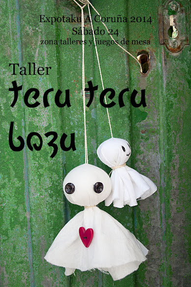 Teru teru bozu Expotaku by Enemy Dolls