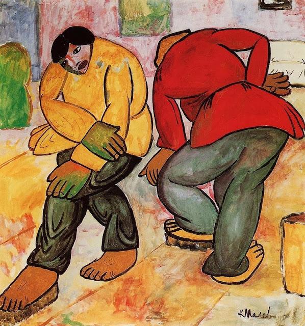 Kazimir Malevich - Floor Polishers