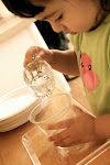 Toddlers love to do adult tasks, such as pouring water. And, with our careful, slowed-down instructions, they can do so succesfully!