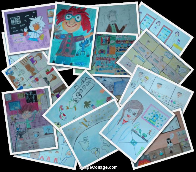 Concurso de Caricaturas, Historietas y Dibujos - Finalistas de 9 a 12 años