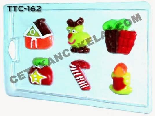 TTC162 Cetakan coklat Natal