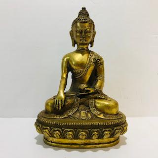 Small Brass Buddha Statue