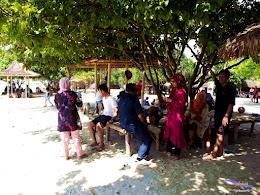 family trip pulau pari 090716 Fuji 042