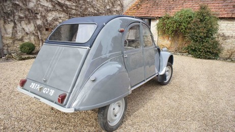 Citroën 1957 2 CV AZLP porte