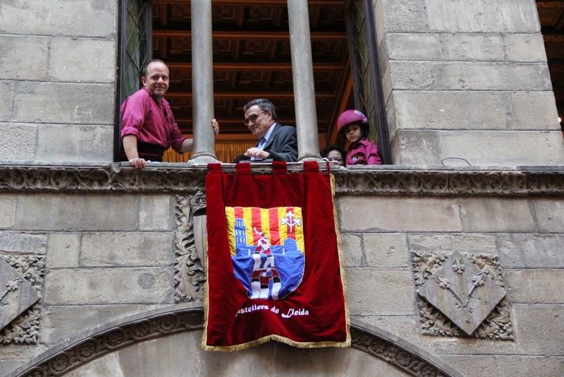 19è Aniversari Castellers de Lleida. Paeria . 5-04-14 - IMG_9624.JPG