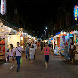 Tonghua night market in Taipei, T'ai-pei county, Taiwan