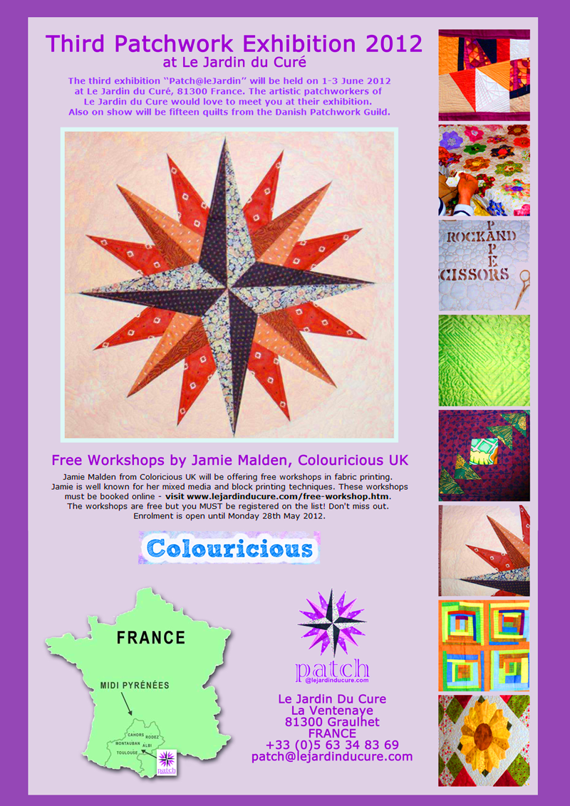 Free - Block Printing Courses in France