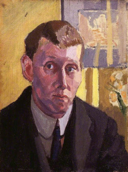 Spencer Gore - Self portrait, 1914