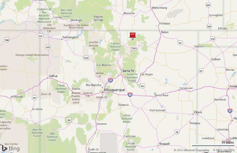 Red River New Mexico Map Mud on the tires Full time RV Adventure: NM    Red River, 20 27