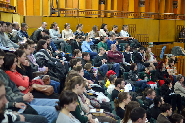 052 Avva Justin Parvu si Sfintii inchisorilor (Teatrul Luceafarul, Iasi, 2014.03.19)