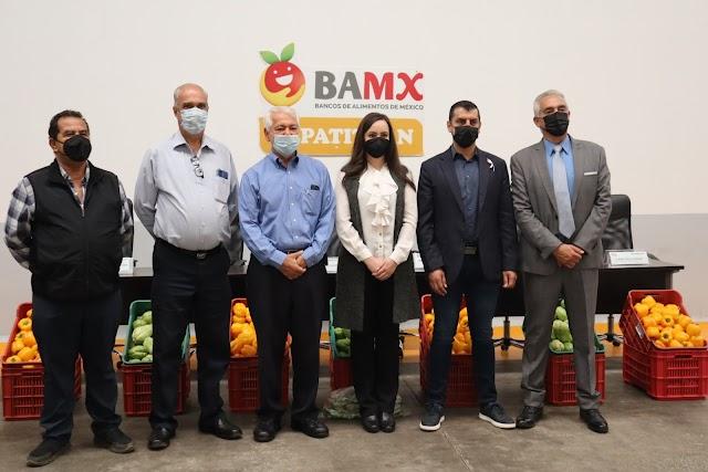 Lanzan campaña de acopio de comida