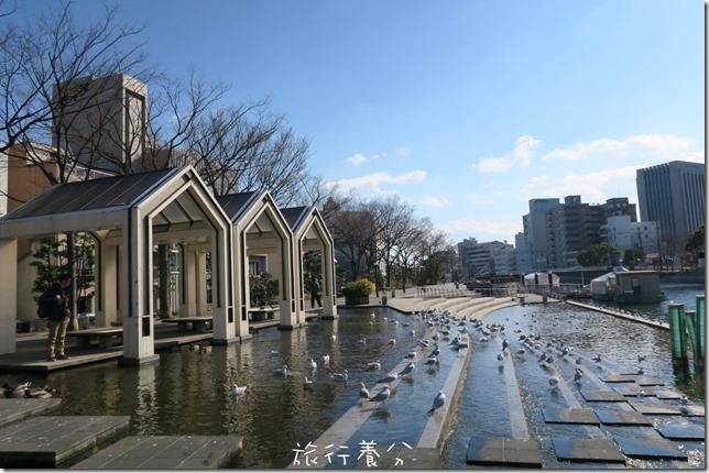 四國德島 葫蘆島周遊船 新町川水際公園 (74)