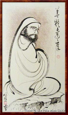 Biểu đồ Thiền Tông Ấn Độ đến Trung Hoa