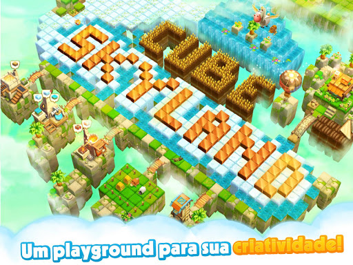 Cube Farm 3D: Harverst Skyland