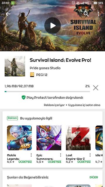 Survival Island : Evolve Ücretsiz Oldu Kaçırmayın