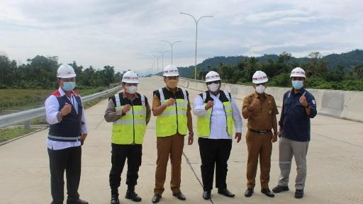 Permasalahan Pembebasan Lahan Tol Mulai Terurai, Ditargetkan 2022 Selesai Dikerjakan, Ini Kata Gubernur Sumbar