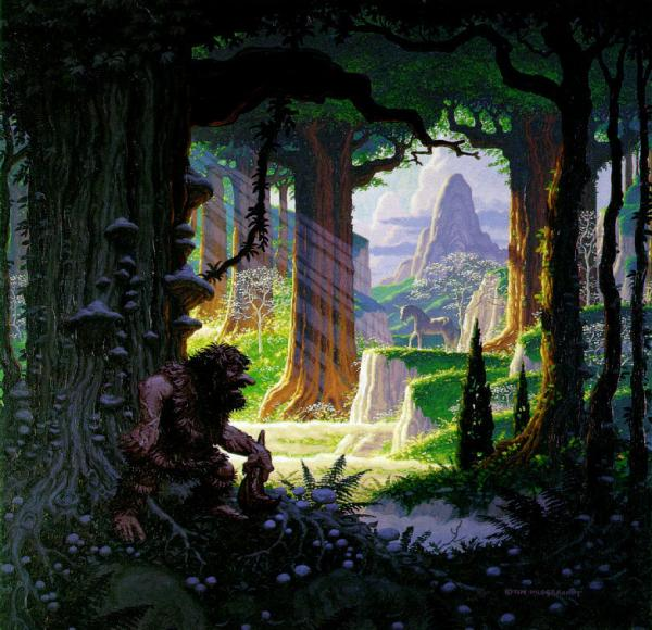 Deep Of Mysterious Place, Fantasy Scenes 1