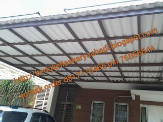 canopy minimalis atap alderon
