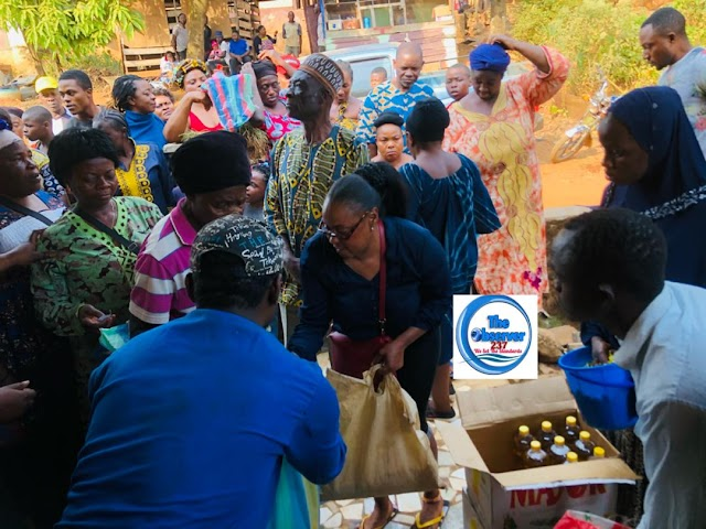 Bamenda: Old town Fetes with goodies from Minister Felix Mbayu
