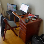 my apartment in roppongi - doing work in Tokyo, Tokyo, Japan