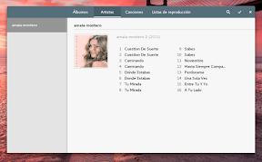Aplicaciones para trabajar en Ubuntu GNOME y también para disfrutar. Música. Artistas.