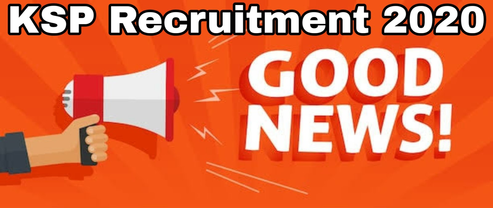 KSP/KPSC Recruitment 2020 -There is no financial burden to complete many recruitment processes, including the SDA, FDA, PC, PSI, ACF, KAS, TET, KSET, which have already begun recruitment, so the government will soon give the green signal to continue