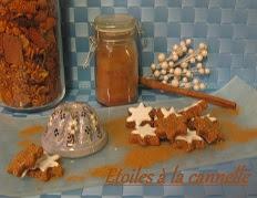 recette des etoiles a la cannelle de noel