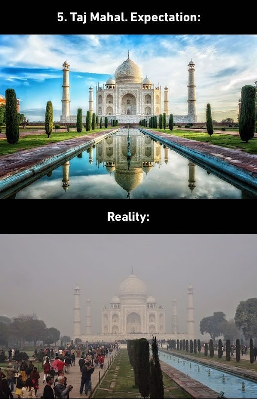 TAJ Mahal India Expectations vs. Reality
