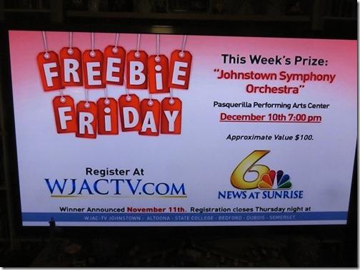 wjac tv freebie friday