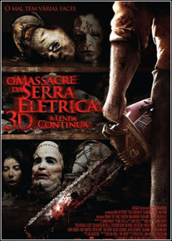 Assistir Filme  Download – O Massacre da Serra Elétrica 3D: A Lenda Continua – BDRip AVI + RMVB Legendado