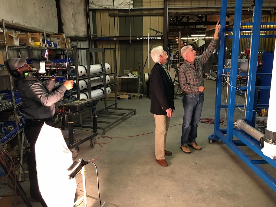 Interviews at our new subsidiary, Progressive Water Treatment of McKinney, Texas.