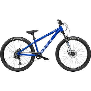 "Radio MY21 Fiend 26"" Dirt Jump Bike - 22.3"" TT, Candy Blue"