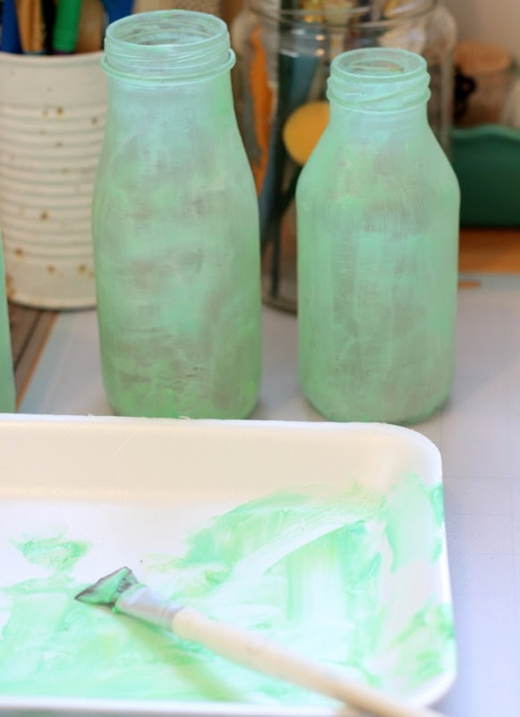 DIY Green Sea Glass via homework (7)