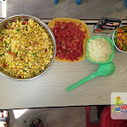 Corn Salad Making Activity done by Jr.Kg,Witty World,Chikoowadi (2017-18)