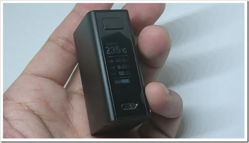 DSC 3867 thumb%25255B2%25255D - 【MOD】「Joyetech eVic Basic 40W」レビュー。超小型BOX MODでコンパクティ!【初心者/女性向け】
